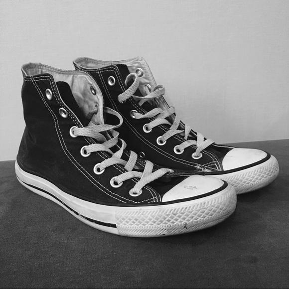 dcc2306f98db Converse Shoes - Black   White Classic Chuck Taylor Converse